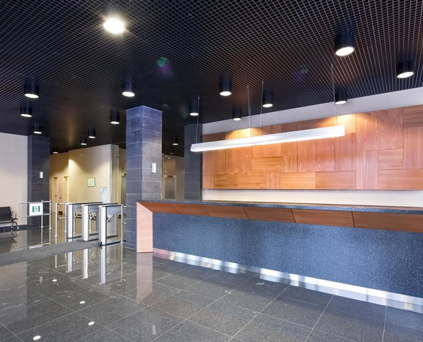 business lighting, commercial